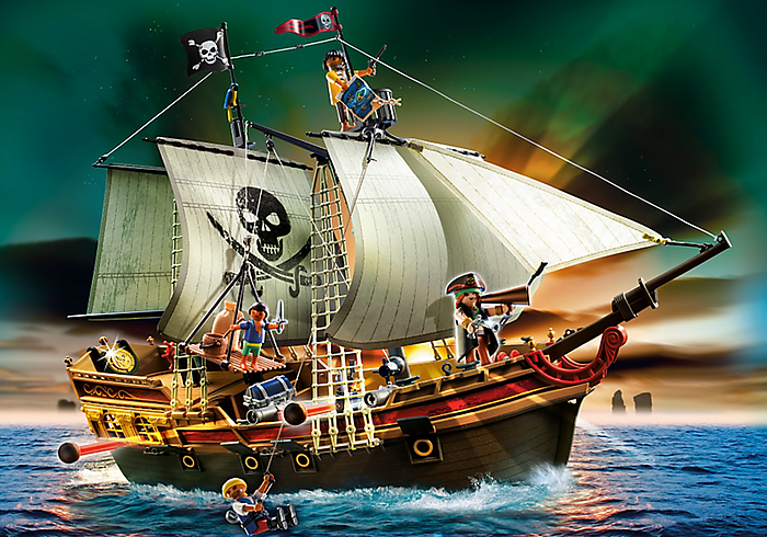 playmobil bestaat veertig jaar - piratenschip