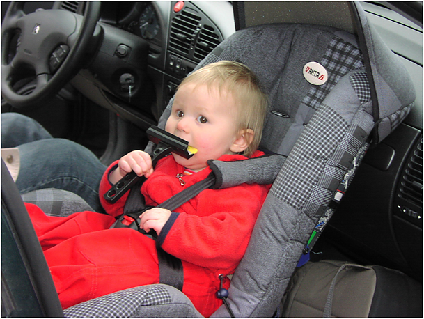 autorijden met kinderen
