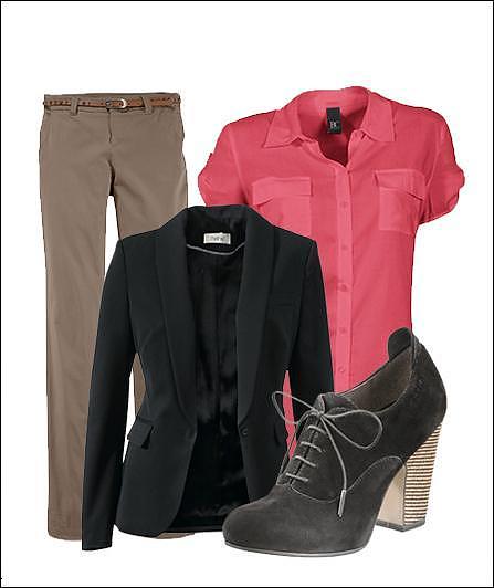 Sollicitatie outfit semi-formeel