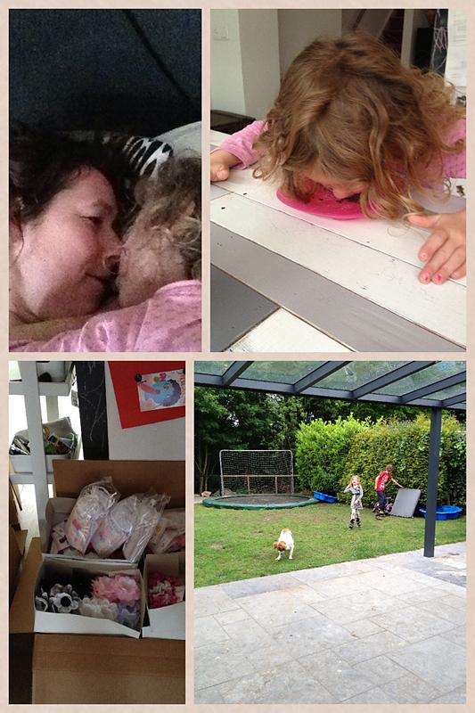 dagboek werkende moeder 8 mei