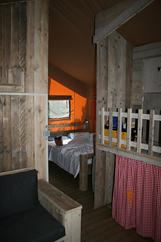 Farmcamps glamping bedden
