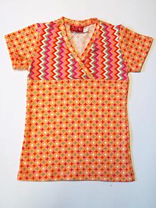 ninie kinderkleding zomer 2014 t-shirt retro ster onder visgraat boven