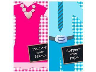 Rapport voor papa en mama