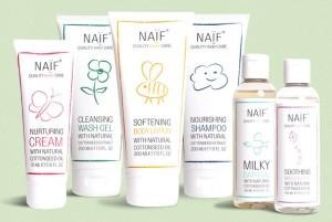 De producten van Naif Quality Baby Care