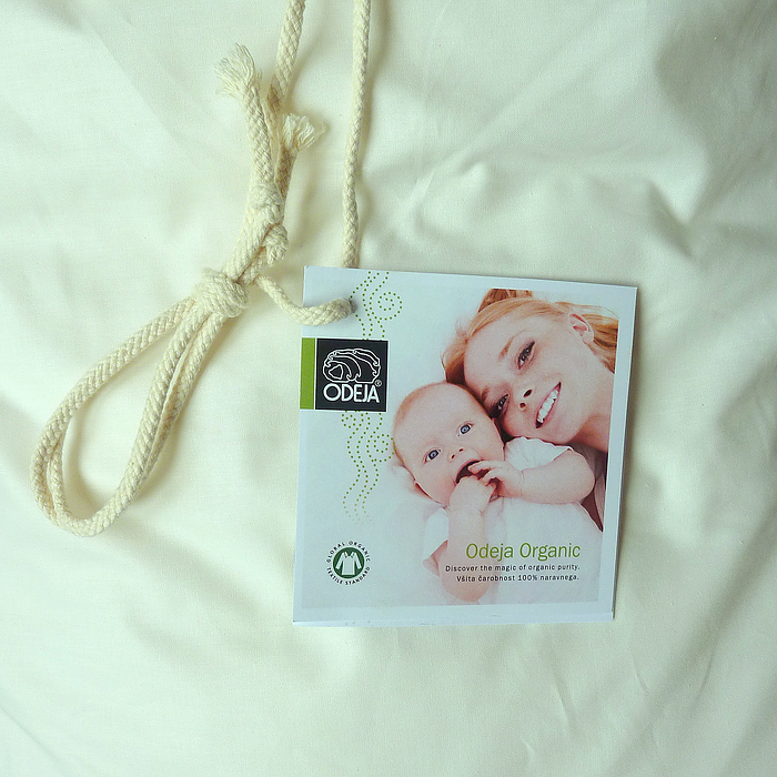 Label Odeja Organic