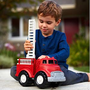 eco speelgoed brandweerwagen