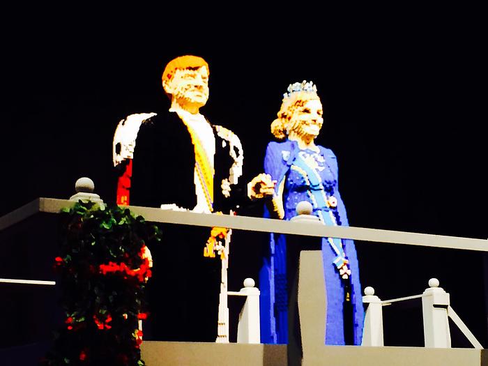 Lego World koning en koningin