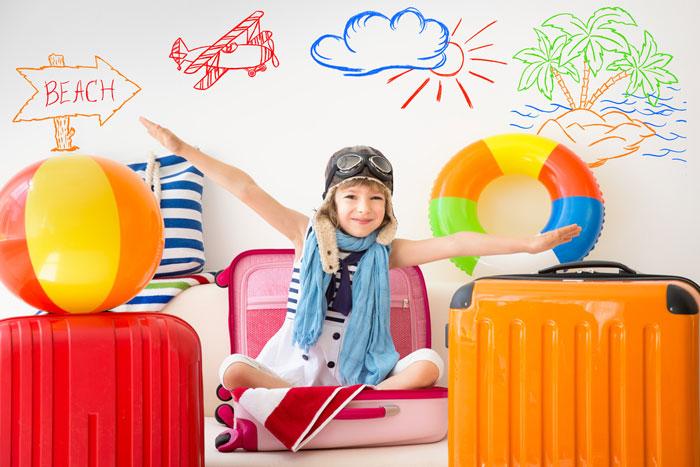 kindvriendelijk op vakantie