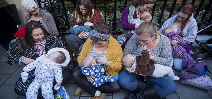 borstvoeding in het openbaar