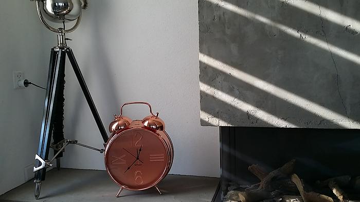 modern interieur klok