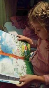 papa en mama wonen apart boek lezen
