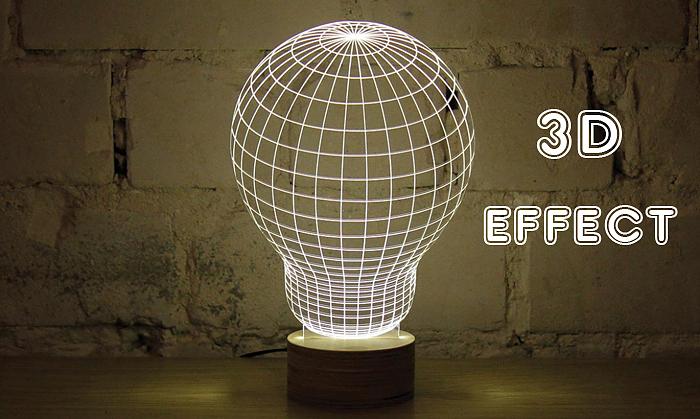 Radbag bulbing lamp