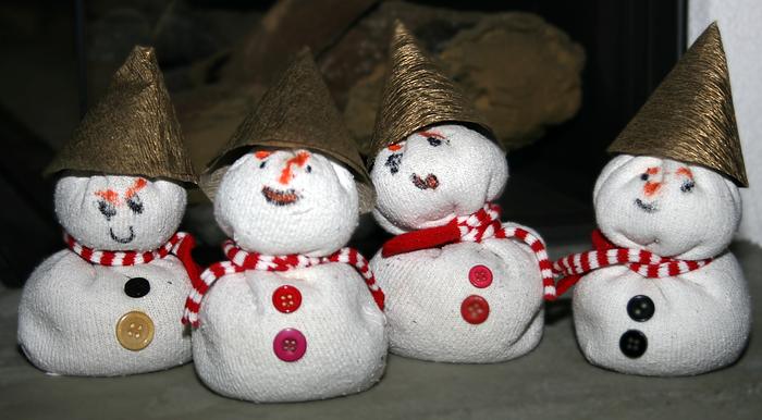 sneeuwpop maken