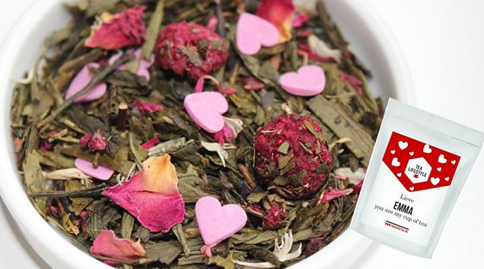 valentijnsrecepten thee
