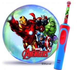 Oral-B Stages Power Brush - met Avengers visual