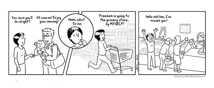 moederschap zwaar shoppen
