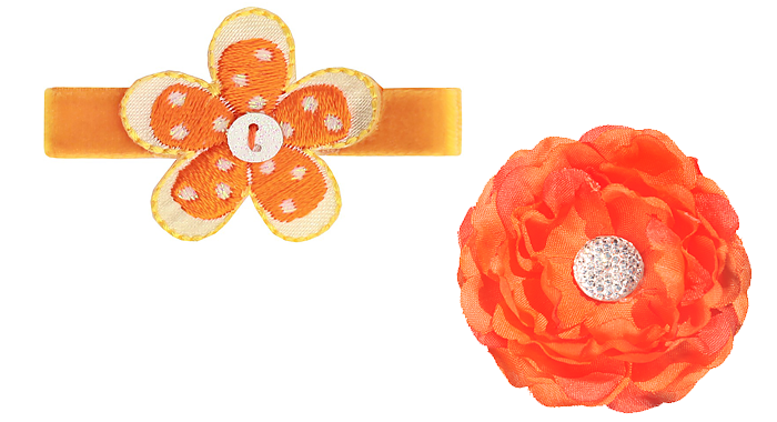 oranje artikelen haarspeldjes
