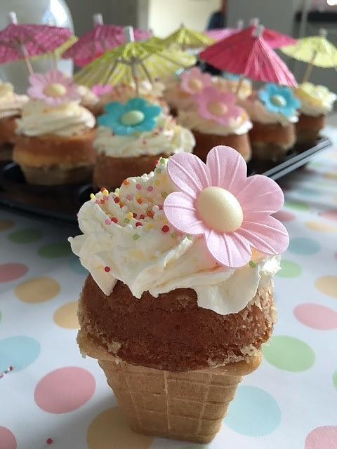 traktatie cupcake