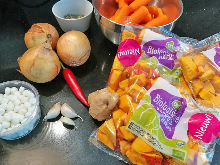 wortel pompoensoep maken