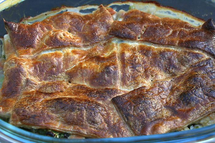 chicken pot pie oven