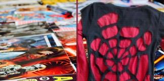 spiderman t-shirt diy