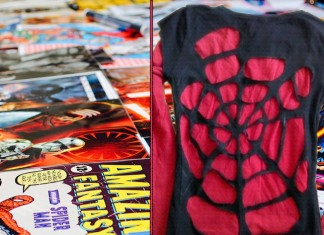 spiderman t-shirt diy