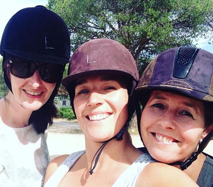 actieve vakantie gezin paardrijden