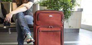reisplan en koffer