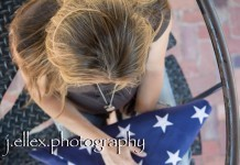 zwangerschapsshoot vlag