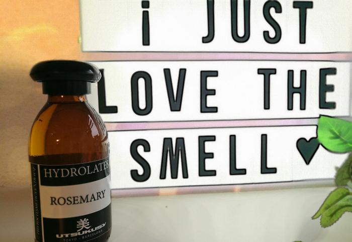 rozemarijn hydrolaat geur
