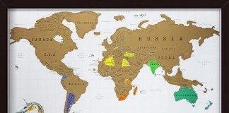 thuisblijven wereldkaart
