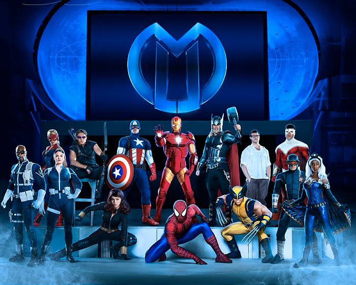 Marvel Universe LIVE helden