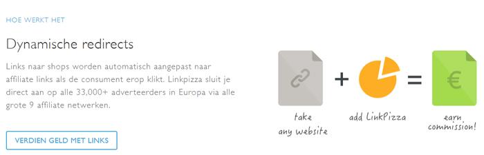 hoe werkt linkpizza