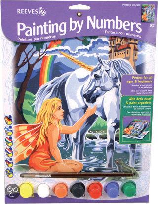 unicorn schilderen