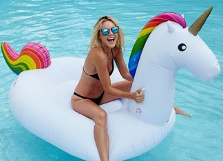 eenhoorn zwembad unicorn