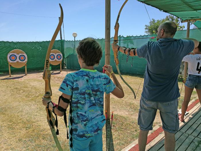 activiteiten met kinderen boogschieten