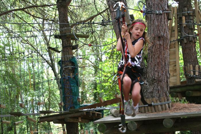 activiteiten met kinderen klimbos