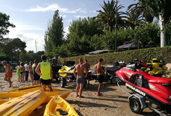 activiteiten met kinderen, watersport