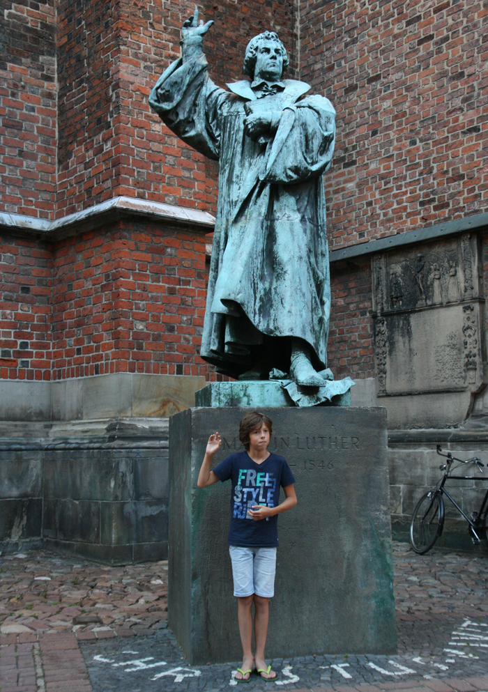 hannover citytrip met kinderen standbeeld