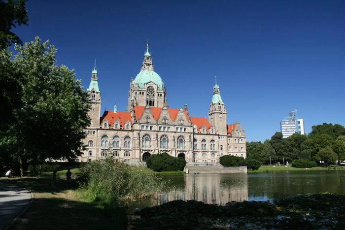 hannover citytrip met kinderen Rathaus