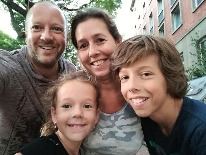hannover citytrip met kinderen selfie