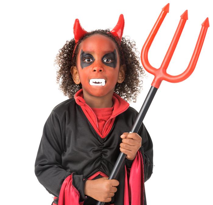 halloween schmink duivel