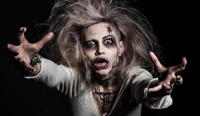 halloween schmink zombie