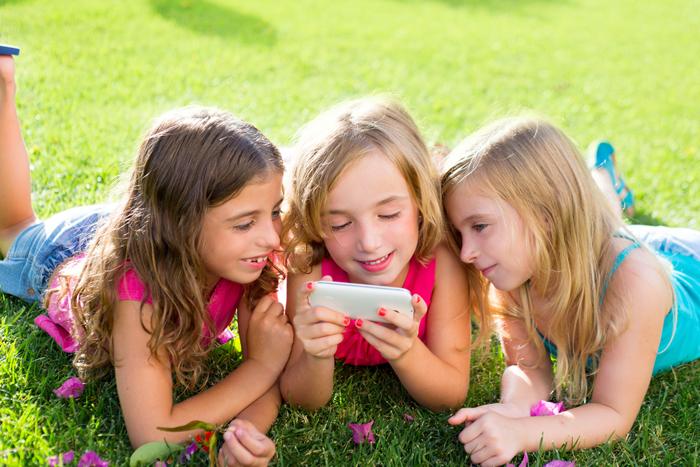 kinderen en gsm