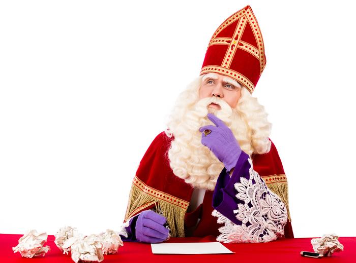 Het key-puntje, waar Sinterklaas zelf mee kwam, is het pepernootschaafsel