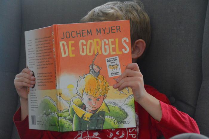 de gorgels kinderboek Jochem Myjer