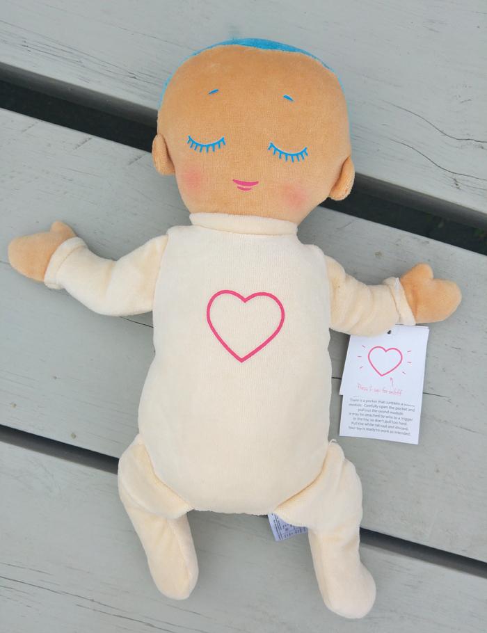 lulla doll voor doorslapen baby