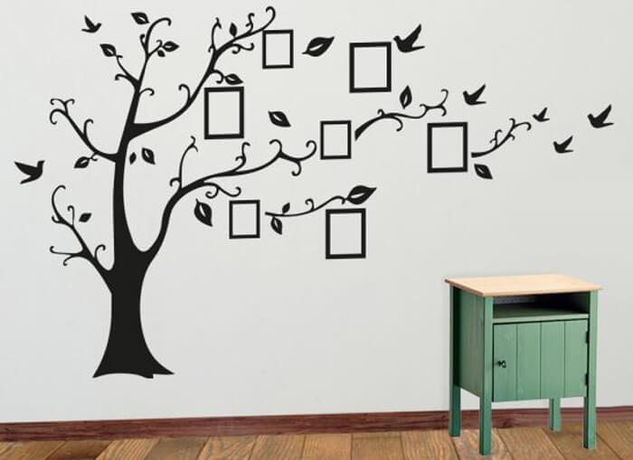 Slaapkamer tekst muurstickers die je zelf kan ontwerpen, hoe handig?!