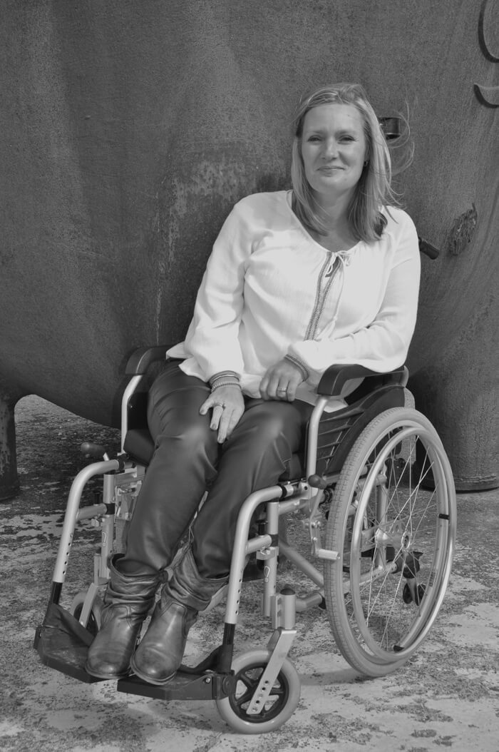 chronisch ziek moeder Heidi Lammers