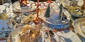 kersttafel dekken trends goud wit